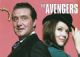 Avengers (Steed & Emma Peel) fridge magnet